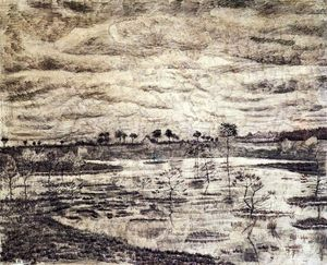 Vincent Van Gogh - A Marsh