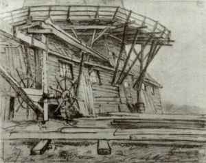 Vincent Van Gogh - Saw Mill