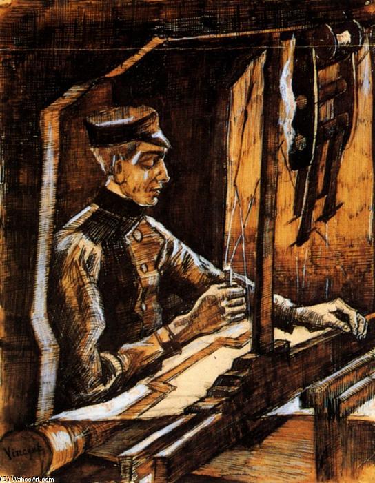 Tecelão de Vicent Van Gogh - 1884
