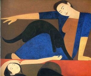 Will Barnet - O Manto Azul