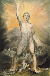 William Blake - O Anjo do Apocalipse