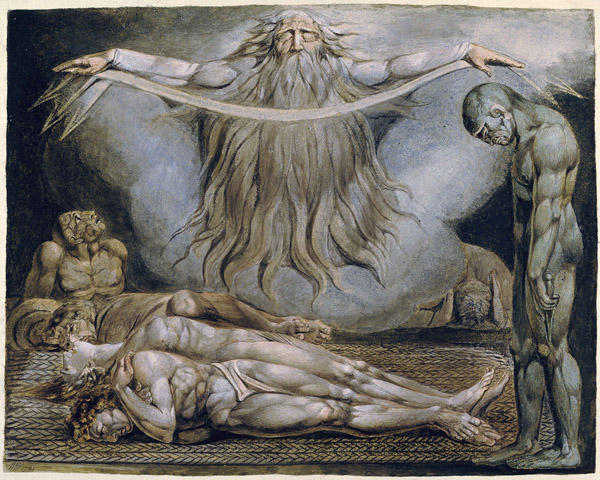 A Casa da Morte por William Blake (1757-1827, United Kingdom)