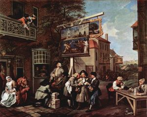 William Hogarth - Propaganda eleitoral