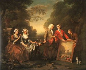 William Hogarth - A família de Fountaine