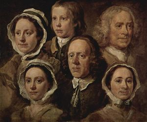 William Hogarth - O servos dos O Pintor
