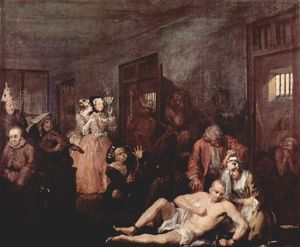 William Hogarth - O Madhouse