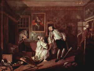 William Hogarth - o assassinato dos O conde