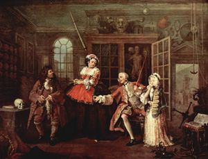 William Hogarth - Visite com o Quack Doctor