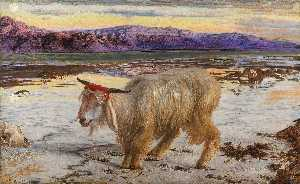 William Holman Hunt - O Bode Expiatório