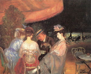 William James Glackens - Café de la Paix