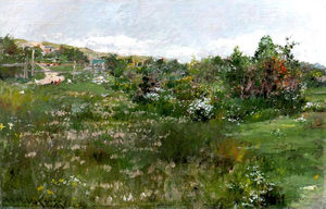William Merritt Chase - Paisagem Shinnecock 02