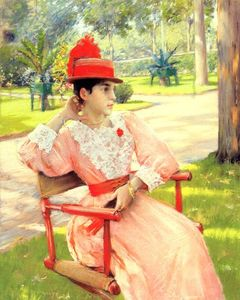 William Merritt Chase - tarde no parque