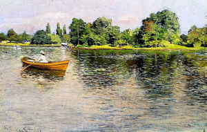 William Merritt Chase - Summertime (Puxar para Shore)