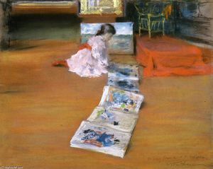 William Merritt Chase - Shinnecock Interior Estúdio