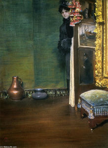 William Merritt Chase - pode i derivar dentro de
