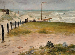 William Merritt Chase - o costa dos Holanda