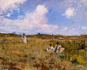 William Merritt Chase - Paisagem Shinnecock 03