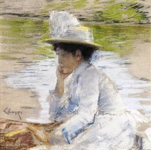 William Merritt Chase - Retrato de Mrs. perseguição