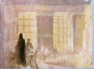 William Turner - Interior em Petworth