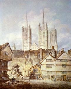 William Turner - catedral igreja na lincoln