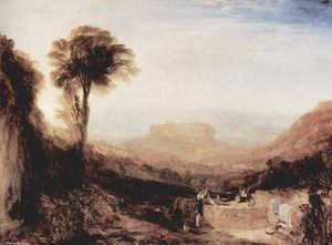 William Turner - Vista de Orvieto