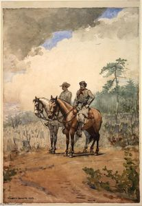 Winslow Homer - Dois Scouts