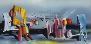 Yves Tanguy - Responder a Red