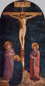 Fra Angelico - Crucifixion com st Dominic