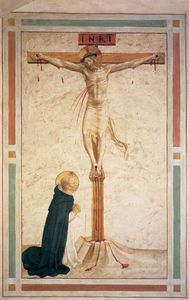 Fra Angelico - Crucifixion com st Dominic ( Célula 17 )