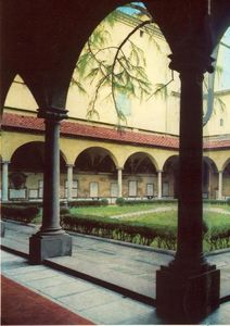 Fra Angelico - Vista of o Convent of San Marco