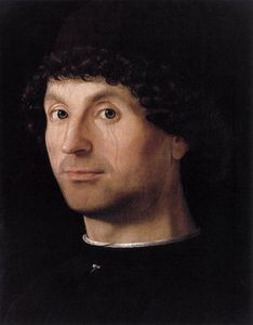 Antonello Di Giovanni Di Antonio (Antonello Da Messina) - retrato de uma man