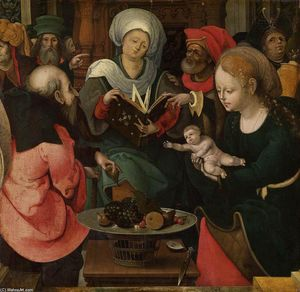 Master Of The Lille Adoration - A parentesco santamente