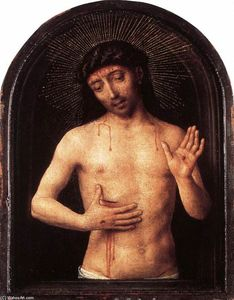 Hans Memling - Man of Sorrows