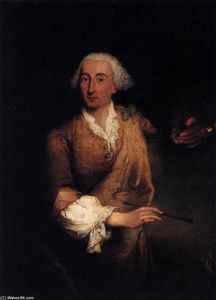 Pietro Longhi - Retrato de Francesco Guardi