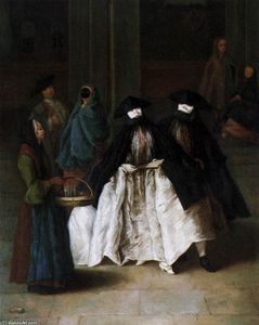 Pietro Longhi - The Scent-Vendedor