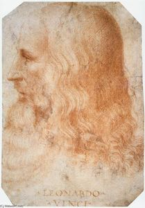 Francesco Melzi - Retrato of Leonardo