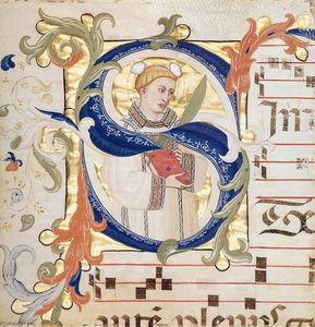 Don Simone Camaldolese - Antiphonary (Folio 51)