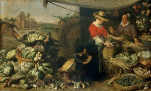 Frans Snyders - Stall Fruit