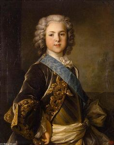 Jean Louis Tocqué - Retrato of Louis , Grande Dauphin of France
