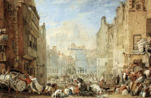 William Turner - Hospital de Heriot, Edimburgo