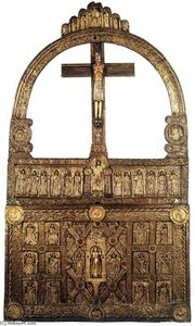 Danish Unknown Goldsmith - O Golden Altar de Lisbjerg