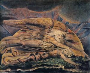 William Blake - Elohim Criação de Adam