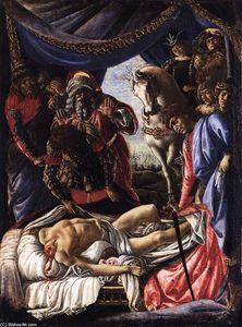 Sandro Botticelli - a descoberta of o assassinato of Holofernes