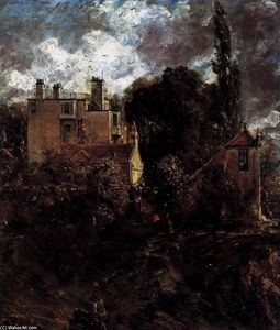 John Constable - A Casa do Almirante (O Grove)