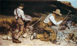 Gustave Courbet - O Stonebreakers