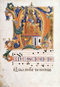 Cenni Di Francesco Di Ser Cenni - Antiphonary (Folio 35v)