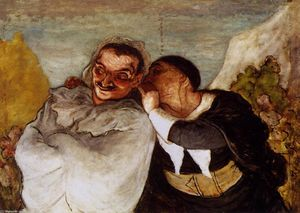 Honoré Daumier - Crispin e Scapin