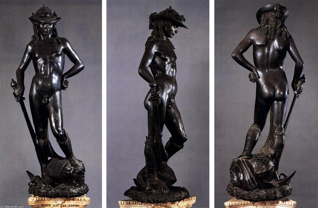 David, Bronze por Donatello (1386-1466, Italy)