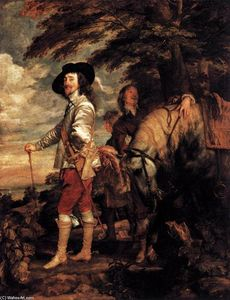 Anthony Van Dyck - Charles Eu , King of England no Caçar