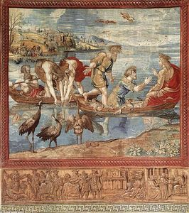 Pieter Van Edingen Van Aelst - O Miraculosa of Fishes